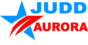 Judd for Aurora Logo