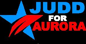 Judd for Aurora Logo