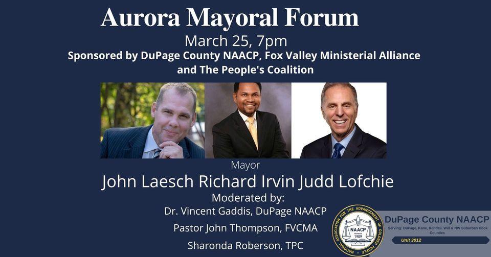 Aurora Mayoral Candidate Forum